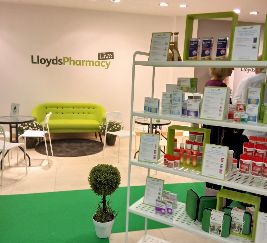 Lloyds pharmacy showcase