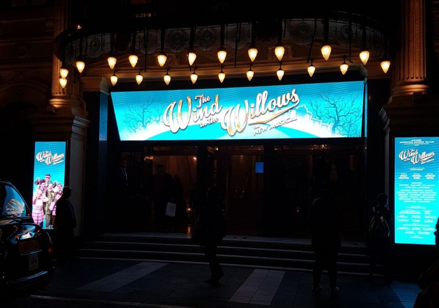 The wind in the willows – London Palladium