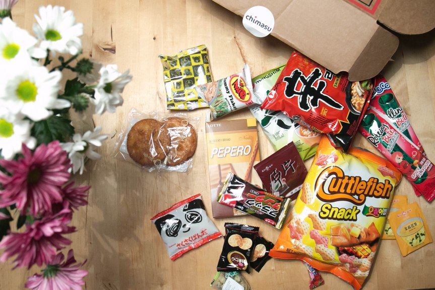 Chimasu – Asian snackbox
